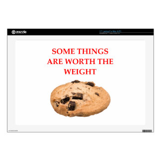 """COOKIE SKIN FOR 17"""" LAPTOP"""