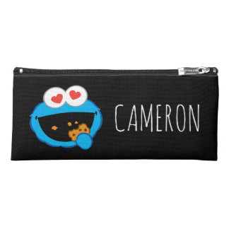 Cookie Smiling Face   Add Your Name Pencil Case