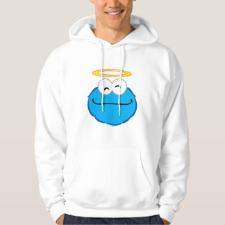 Cookie Smiling Face with Halo Hoodies