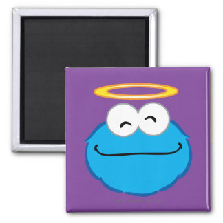 Cookie Smiling Face with Halo Magnet