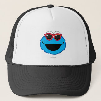 Cookie  Smiling Face with Sunglasses Trucker Hat