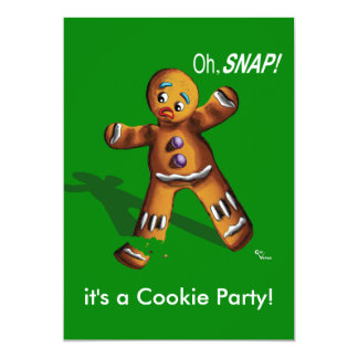 Cookie Swap Christmas Party Invitation