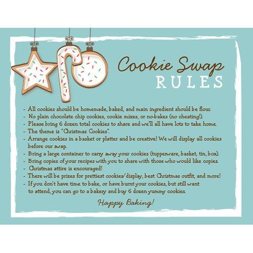 Cookie Exchange Invitation Templates is nice invitation example