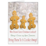 Cookie Swap Invitation Card