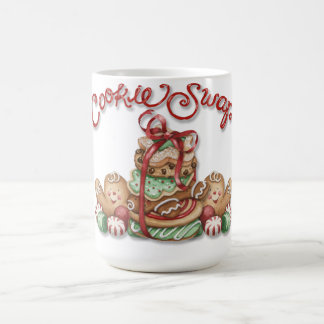 Cookie Swap Mug with Gingerbread Man and Cookies