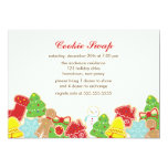 Cookie Swap Party 5x7 Paper Invitation Card