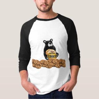 Cookie Sweets Dessert Food Cute Animal Bear Yummy T-shirt