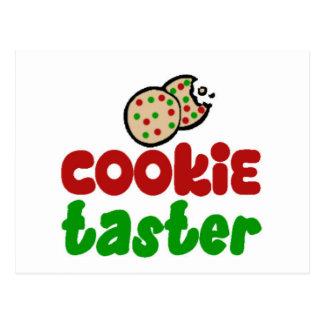 Cookie taster postcards