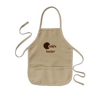 Cookie Tester kid's apron