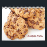 "Cookie Time Calendar<br><div class=""desc"">Cookie Time Calendar. Foodies and cookie lovers this cookie calendar will satisfy your inner love of cookies and sweets with a different,  tasty looking cookie each month. Year can be customized to the year of your choosing.</div>"