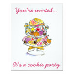 cookie tray  You're invited..., It's a coo... Personalized Invite