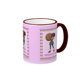 Cookie with ice cream coffee mug