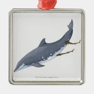 Cookiecutter Sharks Metal Ornament