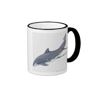 Cookiecutter Sharks Ringer Mug