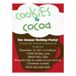 Cookies and Cocoa Holiday Party Invitation