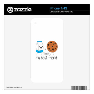 Cookies and Milk - Best Friends Skin For The iPhone 4S