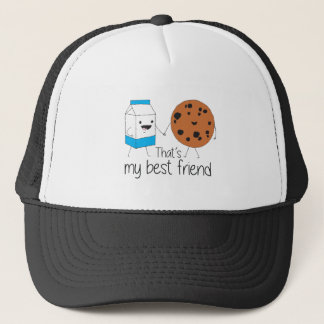 Cookies and Milk - Best Friends Trucker Hat