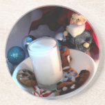 Cookies and Milk Gnome I Beverage Coasters