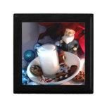 Cookies and Milk Gnome I Keepsake Box