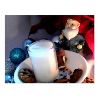Cookies and Milk Gnome I Postcard