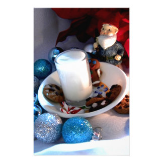 Cookies and Milk Gnome I Stationery