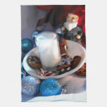 Cookies and Milk Gnome I Towel