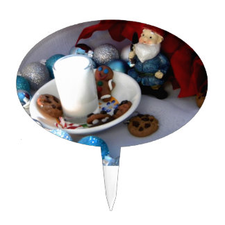 Cookies and Milk Gnome II Cake Topper