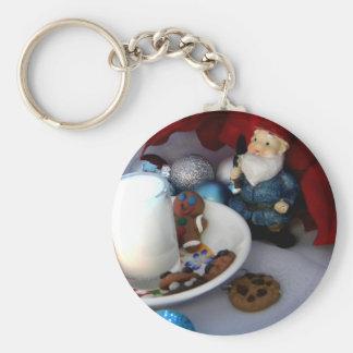 Cookies and Milk Gnome II Keychain