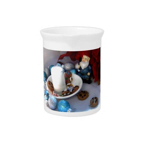 Cookies and Milk Gnome II Beverage Pitchers