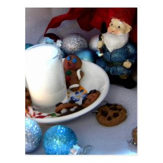 Cookies and Milk Gnome II Postcard