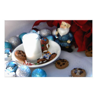 Cookies and Milk Gnome II Stationery