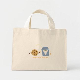 Cookies and Milk Mini Tote Bag