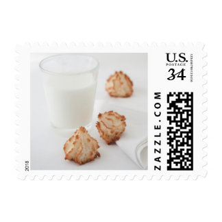 Cookies and Milk Postage Stamps