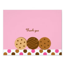 Cookies and Milk Thank You Note Cards