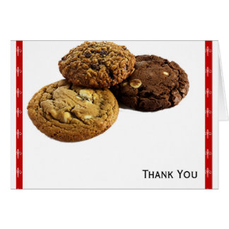 Cookies and Other Delicious Desserts on Red Card