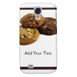 Cookies and Other Delicious Desserts on White Galaxy S4 Cover