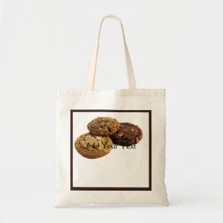 Cookies and Other Delicious Desserts on White Tote Bag