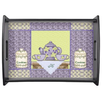 Cookies and Tea Serving Tray