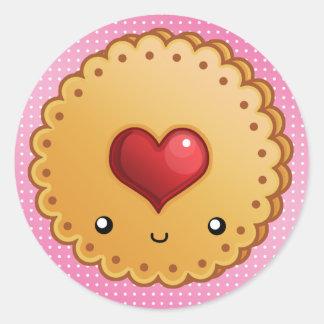 cookies+BG, cookie_luv Sticker