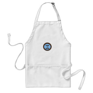 cookies by russell logo adult apron