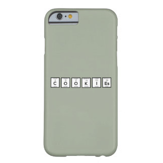 Cookies Chemical element Z57c7 Barely There iPhone 6 Case