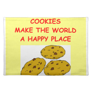 cookies cloth placemat