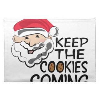 Cookies Coming Cloth Placemat
