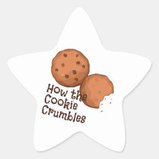 Cookies Crumbles Sticker