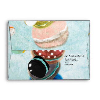 Cookies flavors Watercolor Envelope
