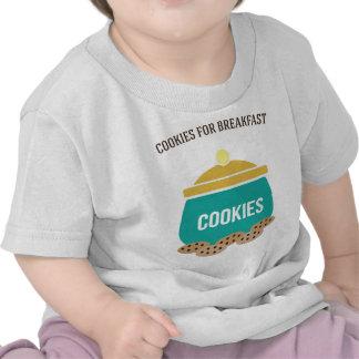Cookies For Breakfast Tee Shirts