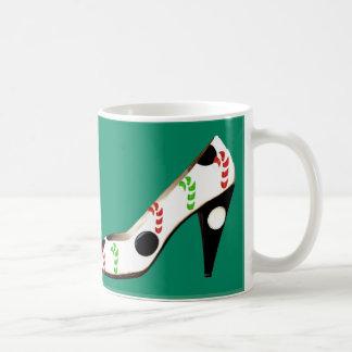 Cookies for Santa and High Heel Shoes Coffee Mug