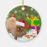 Cookies for Santa Claus Christmas Ornaments