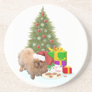Cookies for Santa Claus Drink Coaster