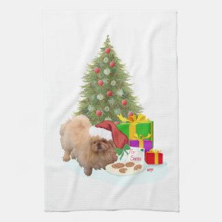 Cookies for Santa Claus Hand Towel